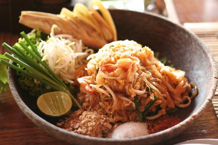 plato del buen comer: Tailandia colorido, comida deliciosa Foto de archivo