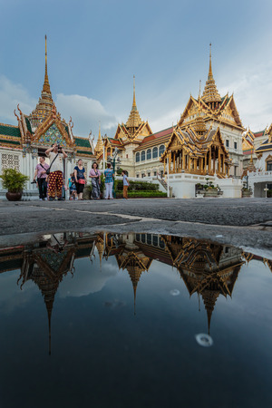 Thailand enchanting beauty of the temple is beautiful.