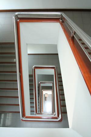 Stairs that look quaint , beautiful views .