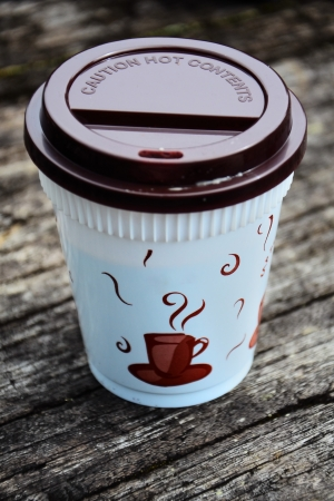 Takeaway coffee photo