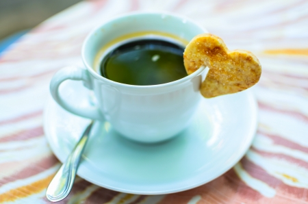 Coffee in love photo