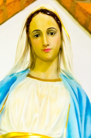 consecrated: Saint Mary Stock Photo