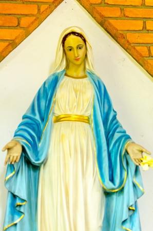 sanctified: Saint Mary Stock Photo