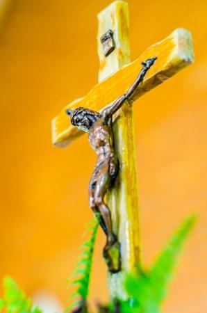 Jesus on cross Stock Photo - 21538309
