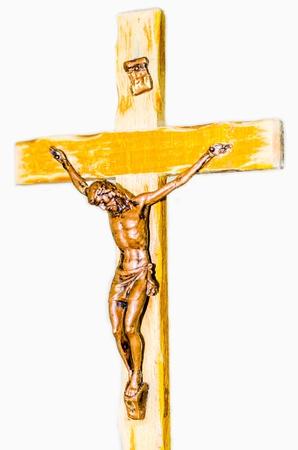 Jesus on cross Stock Photo - 21538311