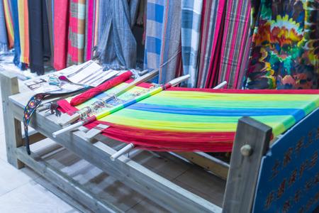 textile machine: Textile machine Stock Photo