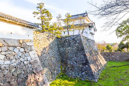 Nagoya Castle in Nagoya, Japan 新闻类图片