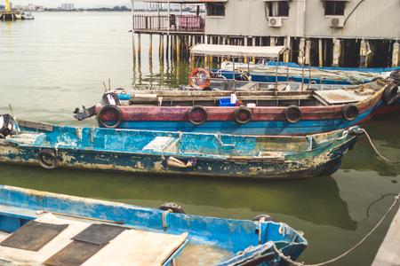 Fish boat Reklamní fotografie