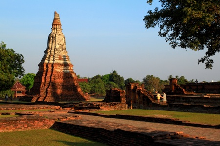 Pagoda at Wat Chaiwatthanaram, Thailand