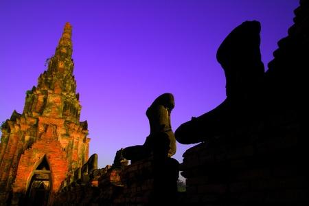 Wat Chaiwatthanaram, Thailand Stock Photo