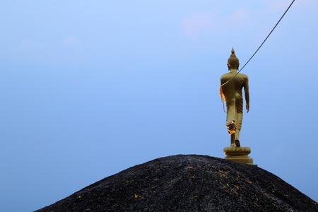 Buddha Walking