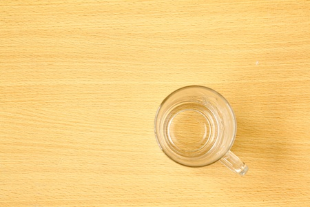 wallpaper and cup Stock Photo