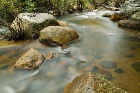 Stone Water Stream  Stock Photo