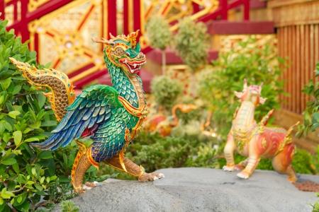 Dragon sculpture of an ancient animal