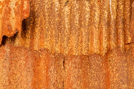 Old zinc rust wall texture background