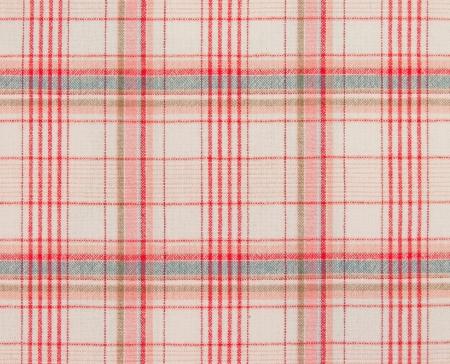 Red tartan tablecloth Stock Photo