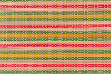 Colorful pattern of mat texture