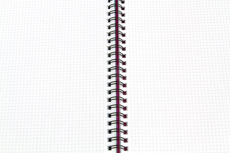 Image of white paper notebook inside photo
