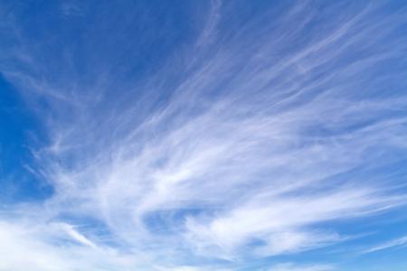 Blue sky white cloud Stock Photo