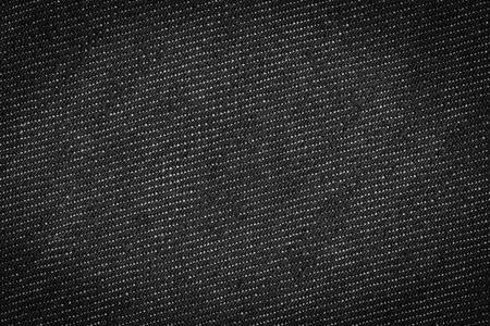 Black jeans texture background photo