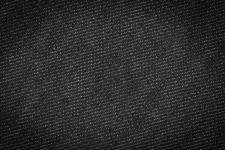 Black jeans texture background photo