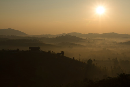 morning sky: Sunlight in morning sky