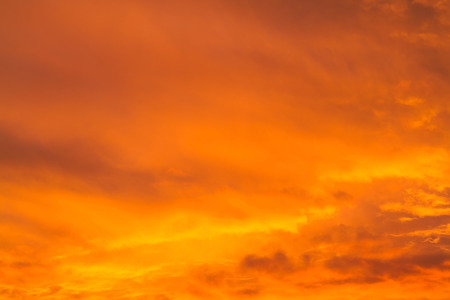 orange colour: Abstract sunrise sky