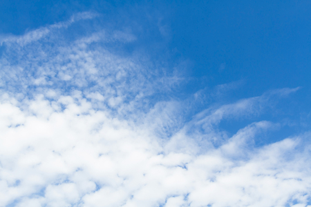 White cloud blue sky Stock Photo