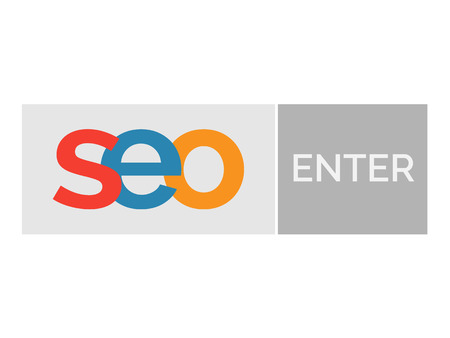 backlink: SEO word with enter button