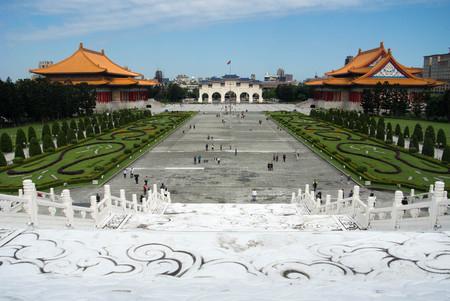 Chiang Kai Shek Memorial , Taipei, Taiwan on April 28, 2017 Editorial