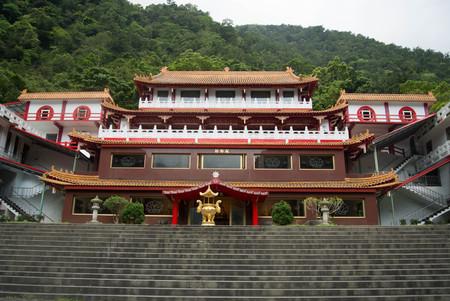 Changuang Temple in Taroko National Park