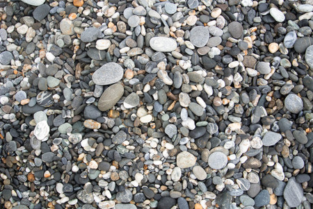 Mixed gravel texture background pattern.