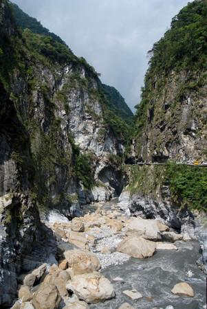 Taroko national park, Photo taken on: April 30th, 2017