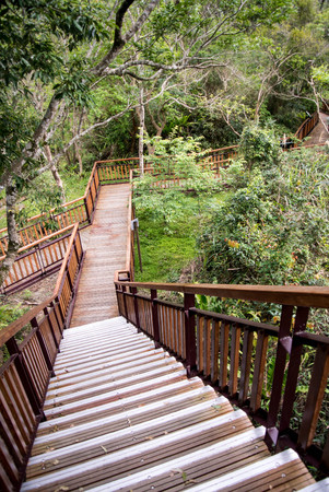 Stair to Scenic viewpoint, Taroko national park
