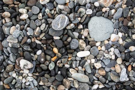 Mixed gravel