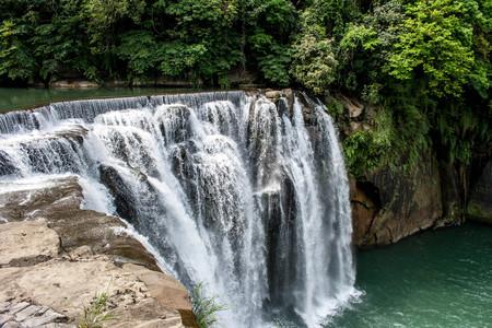 Beautiful waterfall in ShiFen, Taiwan. Photo taken on: April 30th, 2017