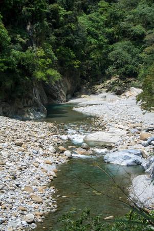 Shakadang Trail in Taroko National Park, Taiwan on 30 April 2017