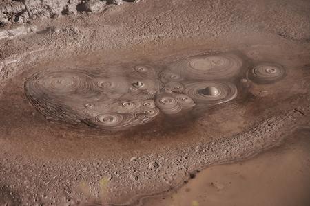 Boiling mud in Rotorua, New Zealand