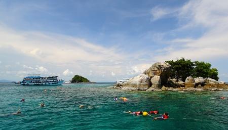Snorkel in the sea Editorial