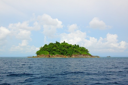 An island in Thailand Stock Photo