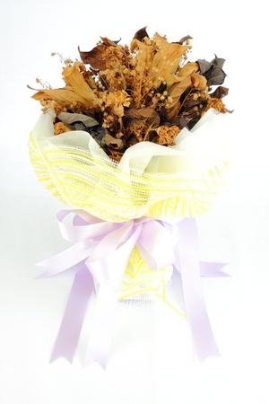 枯れた花束