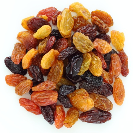 raisin: Mixed raisins Stock Photo