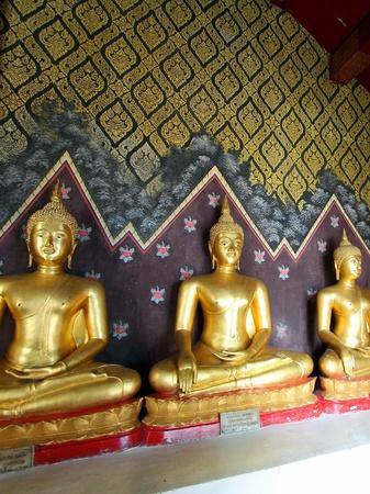 タイの仏像 写真素材