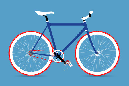 pedaling: FIXED GEAR BICYCLE