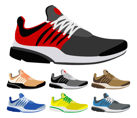 running shoes: Sport shoes