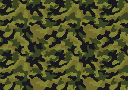 camo: Camouflage seamless pattern