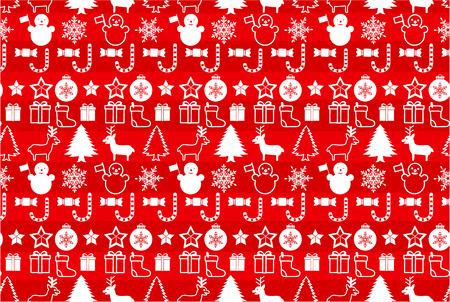christmass: Christmass patr�n transparente Vectores