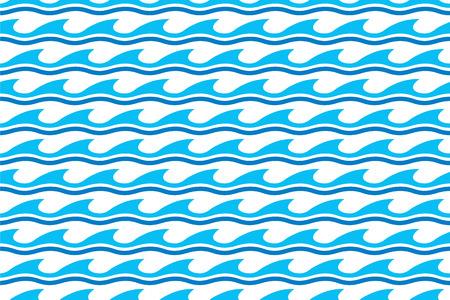 wasserwelle: Wasserwelle nahtlose Muster