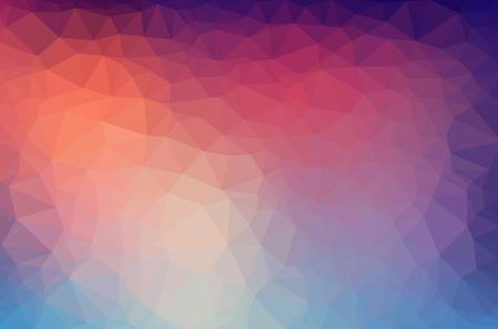 Résumé polygone d'arrière-plan géométrique. Vecteur et illustration