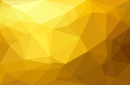 Abstract polygon geometric background. Vector and illustration Reklamní fotografie - 41672451